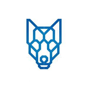 Modern Wolf Logo Wolf Head Logo