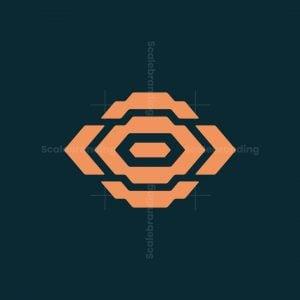 Abstract Eye Logo