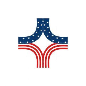Plus Medical Flag Logo