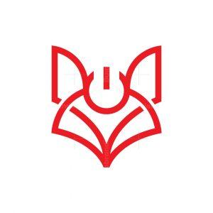 Energy Power Fox Logo Technology Fox Logo