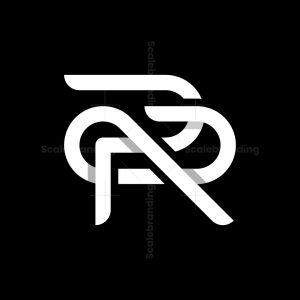 Letter Pr Monogram Logo