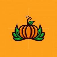 Pumpkin Vegetable Logo