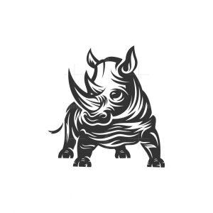 Rhino Animal Logo