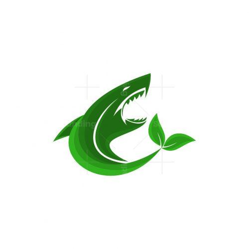 Shark Leaf Logo