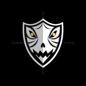 Skull Shield Logo