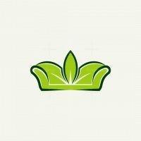 Sofa Leaf Nature Logo