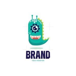 Tech Monster Logo