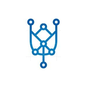 Technology Cyber Tulip Logo