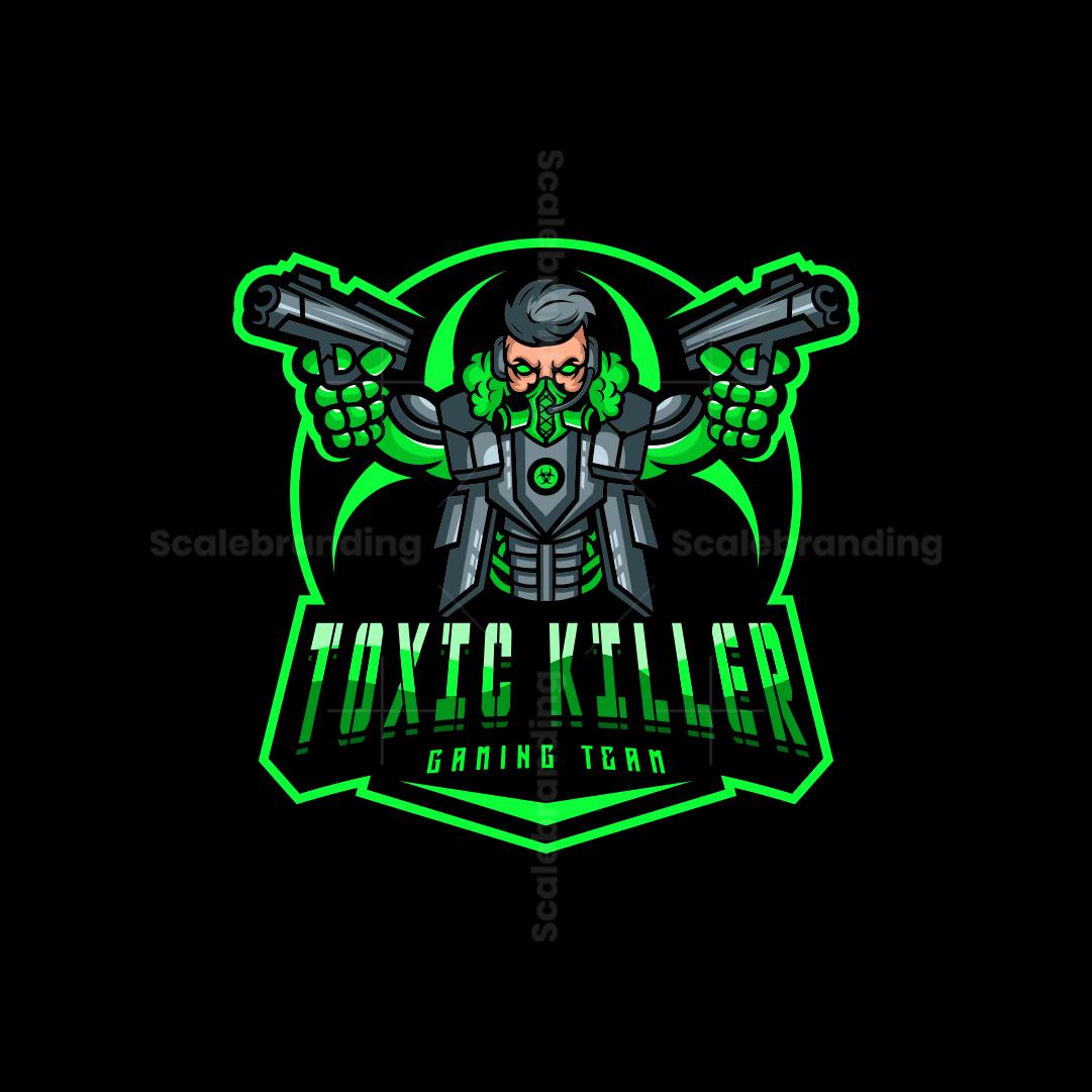 Toxic Killer Mascot Logo
