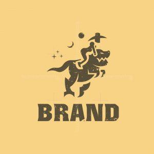 Trex Woman Logo