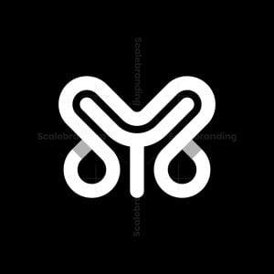 Letter Y Minimalist Monogram Logo