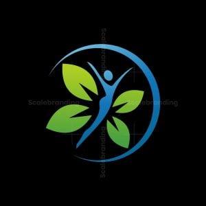 Woman Leaf Logo
