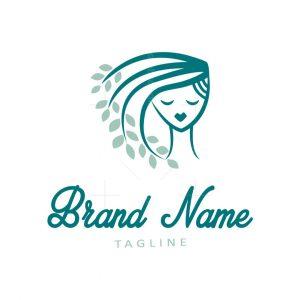 Hair Leaves Logo