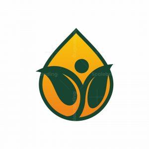 Drop Nature Life Logo