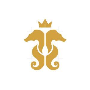Seahorse King Logo