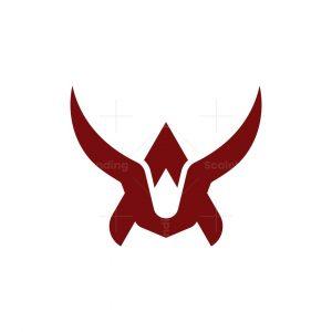 Letter A Bull Logo