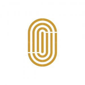 Ambigram Letter J And O Logo
