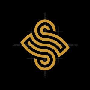 Ambigram Letter S Logo