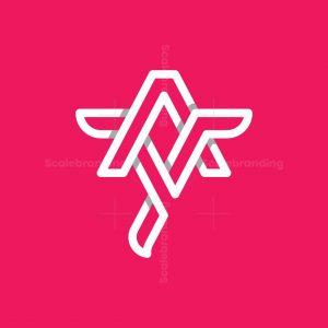 Modern Letter Ay Logo