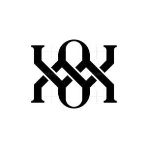 Abstract Knot Monogram Logo