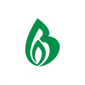 Letter B Nature Logo