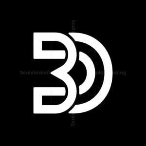 Bd Db Letter Logos