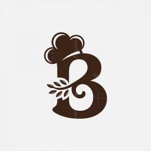 Bakery B Letter Logo