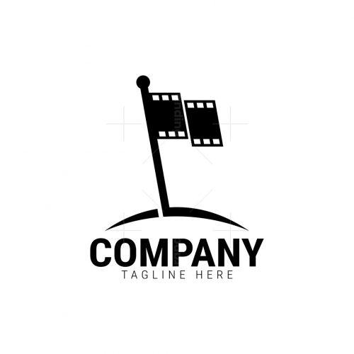 Cinema Flag Logo