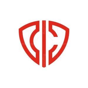 C Letter Shield Logo