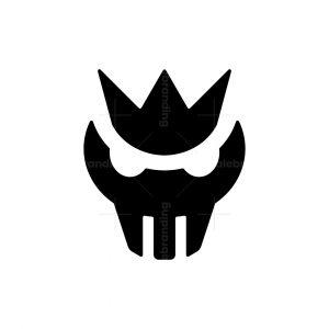 Crown Skull Logo