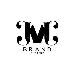 Letter Jvc Or M Logo