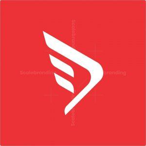 Dynamic Letter D Logo