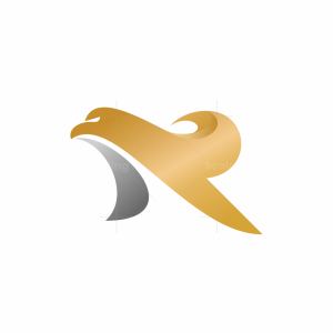 Letter R Eagle Logo