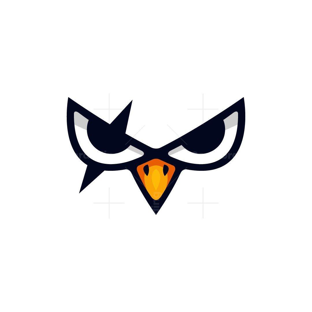 Angry Bird Eye Logo
