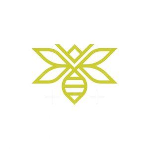 Elegant Queen Bee Logo