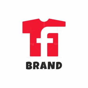 Letter F Shirt Logo