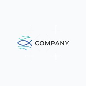 Fish Wave Logo