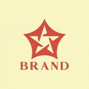 Flying Bird Star Logo