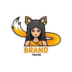 Fox Girl Logo