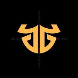 Gg Bull Letter Logo