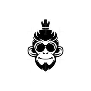 Gentleman Monkey Logo