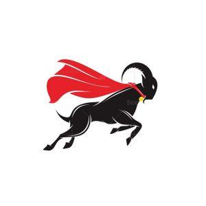 Goat Hero Logo