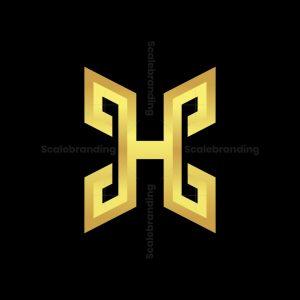 Gold Hc Letter Logos