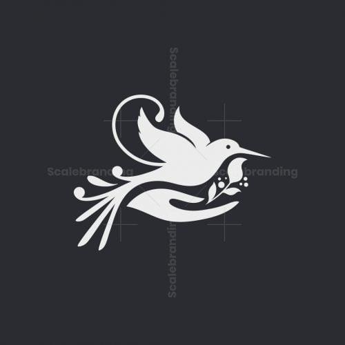 Hand With Bird Logo