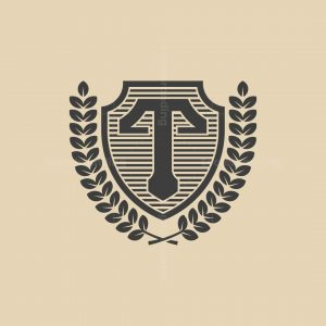Heraldic T Logo