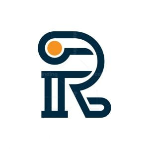 Letter Ir Or Ri Logo