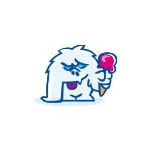 Ice Cream Yeti Logo