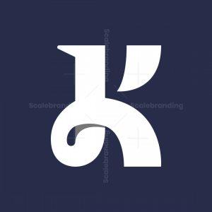 Letter Jk Or K Logo