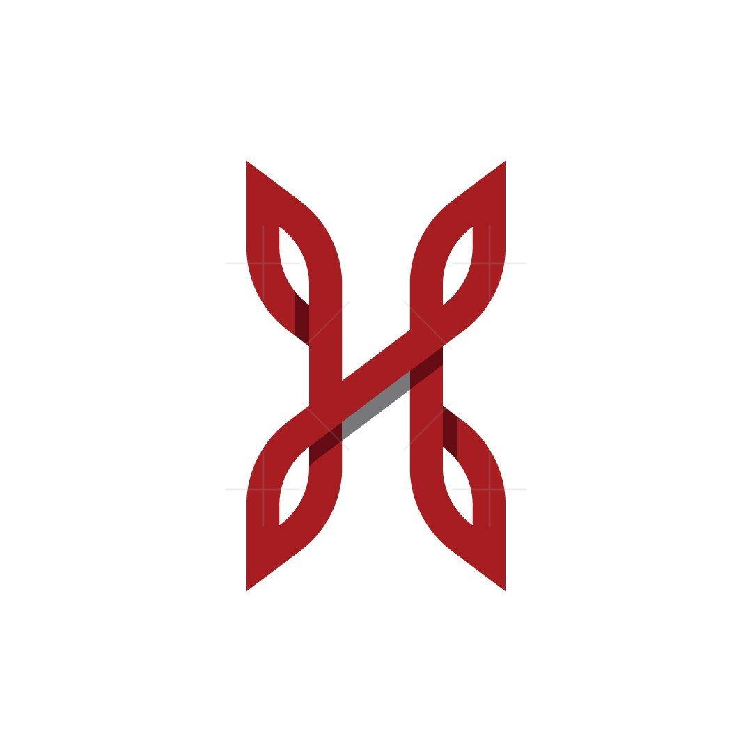 Letter H Beauty Logo