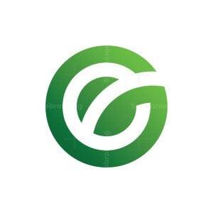 Ge Eg Green Leaf Logo